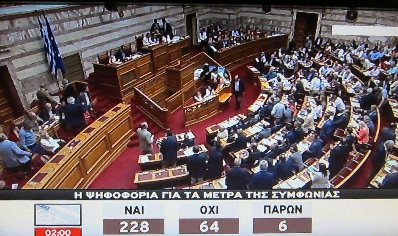 griechenland vouli ergebnis