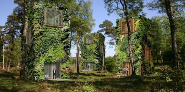 Des logements futuristes en forme...d'arbres