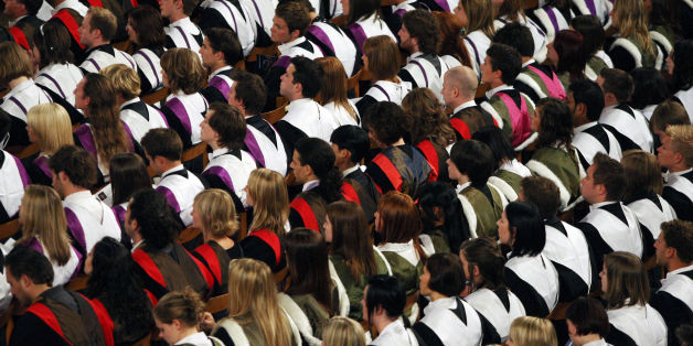 Embargoed to 0001 Wednesday July 15File photo dated 27/06/08 of students at a University graduation ceremony, as research has found that seven in 10 parents believe that university has become unaffordable for most people in the UK.