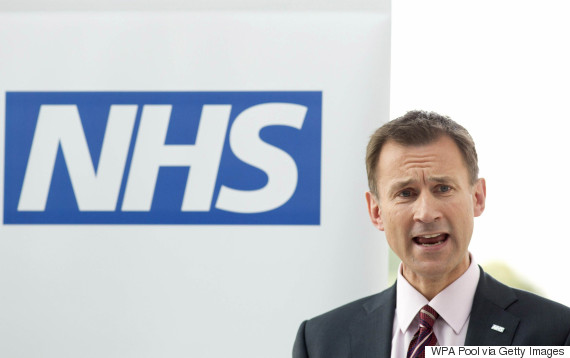 jeremy hunt nhs