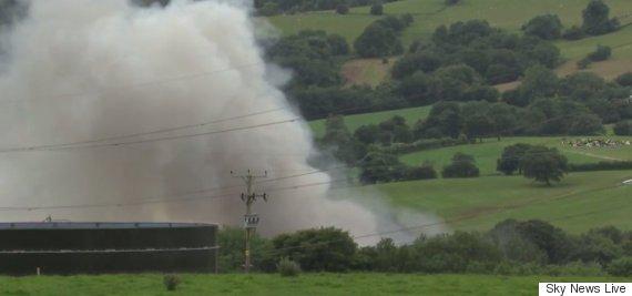 bosley fire