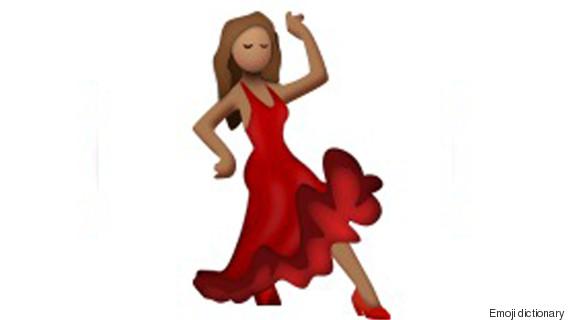 dancing emojis