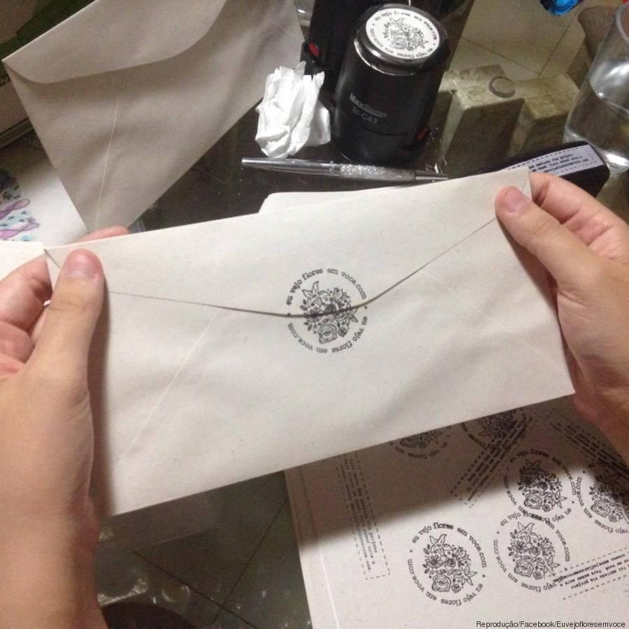 flores projeto carta