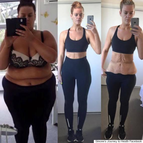 simone weight loss