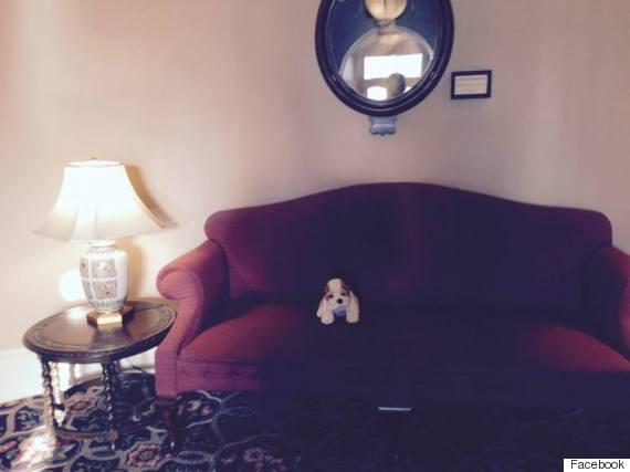 boris stuffed dog