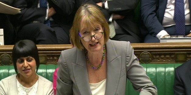 Acting Labour party leader Harriet Harman.
