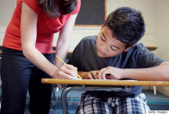 teacher student class