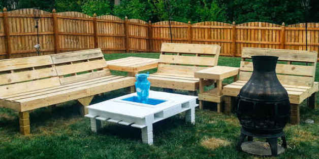 Lovely 7 Cool Pieces Of Furniture You Can Easily Make With Shipping Pallets |  HuffPost