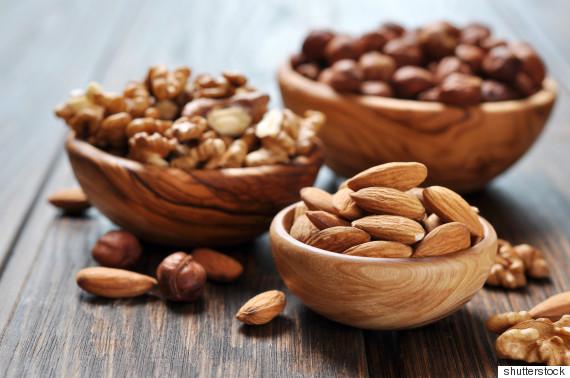 snack almond