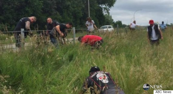 bikers search for ring