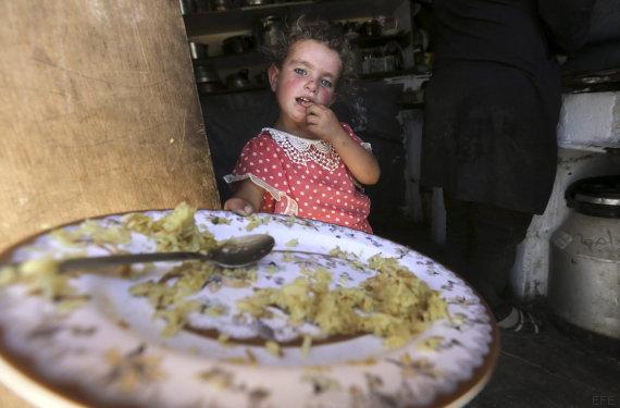 niña susia palestina