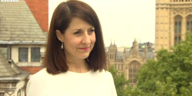 Liz Kendall on the BBC this morning