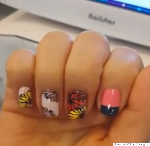 Nail Art Machine Video Korean Invention Prints Amazing Nail Art