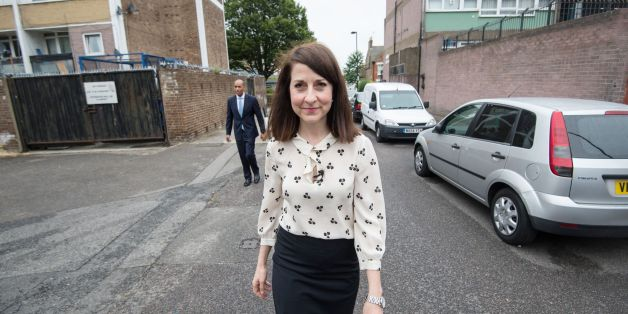 Candidate for Labour leader Liz Kendall visits Brixton Solar in south London where she saw how solar energy is being produced on the Roupell Park Estate with the cooperation of the residents.