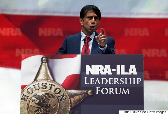bobby jindal with a gun