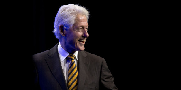 Former President Bill Clinton smiles after speaking at the NAACP's 106th Annual National Convention, Wednesday, July 15, 2015, in Philadelphia. (AP Photo/Matt Rourke)