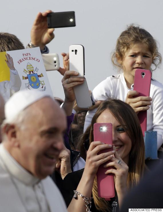 pope visit santa maria