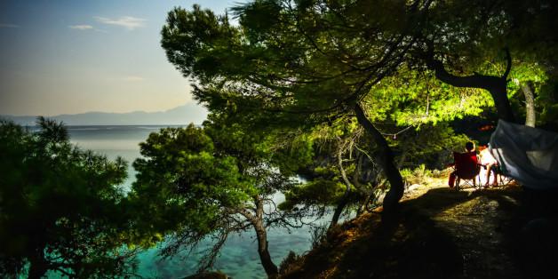 Chalkidiki peninsula, Sithonia, Aegean sea, Greece.
