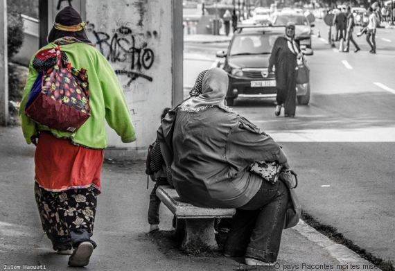 femmes dans la rue