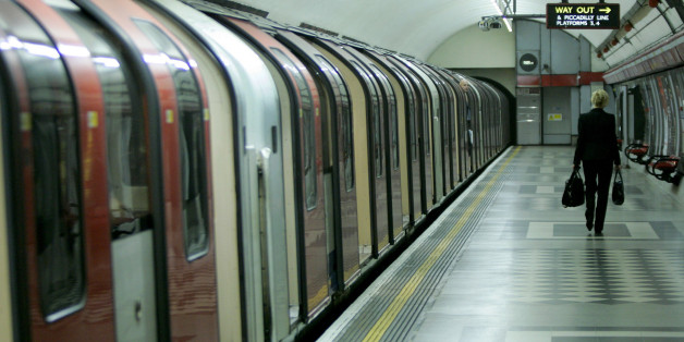 A lone commuter walks away after getting off a Central Line train during morning rush hour at Holborn underground station in London, Friday July 8, 2005. A series of deadly explosions in London on Thursday claimed at least 37 lives and injured hundreds of others. Britain's top law-enforcement official said Friday that the bombers who hit London's transportation network could strike again. Britain's Home Secretary Charles Clarke said police have not ruled out the possibility that one or more of t