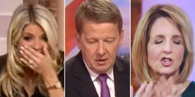 Holly Willoughby, Bill Turnbull and Kaye Adams