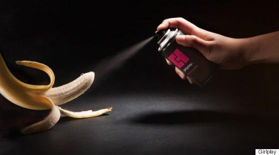 sprayon condom
