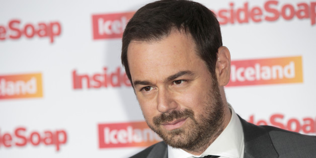 British actor Danny Dyer arrives for the Inside Soap awards, held in central London, Wednesday, Oct. 01, 2014. (Photo by John Phillips Invision/AP Images)