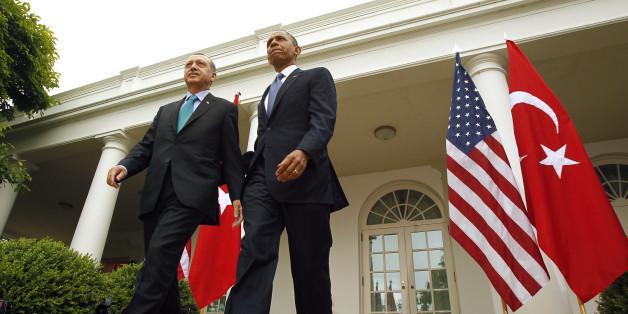 Photo: Recep Tayyip Erdogan et Barack Obama, le 16 mai 2013 à la Maison Blanche
