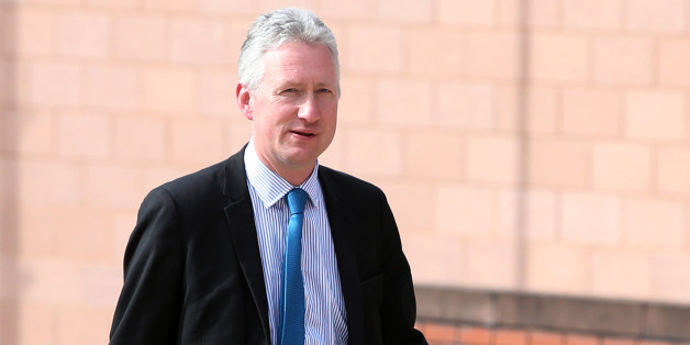 Lembit Opik arrives at Preston Crown Court as a witness in the trial for former deputy speaker of the House of Commons Nigel Evans who faces nine charges, dating from 2002 to April 1, last year of sexual offences against seven men.