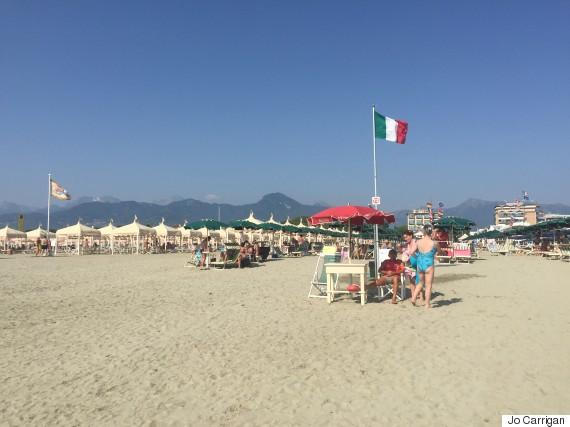 beach versilia