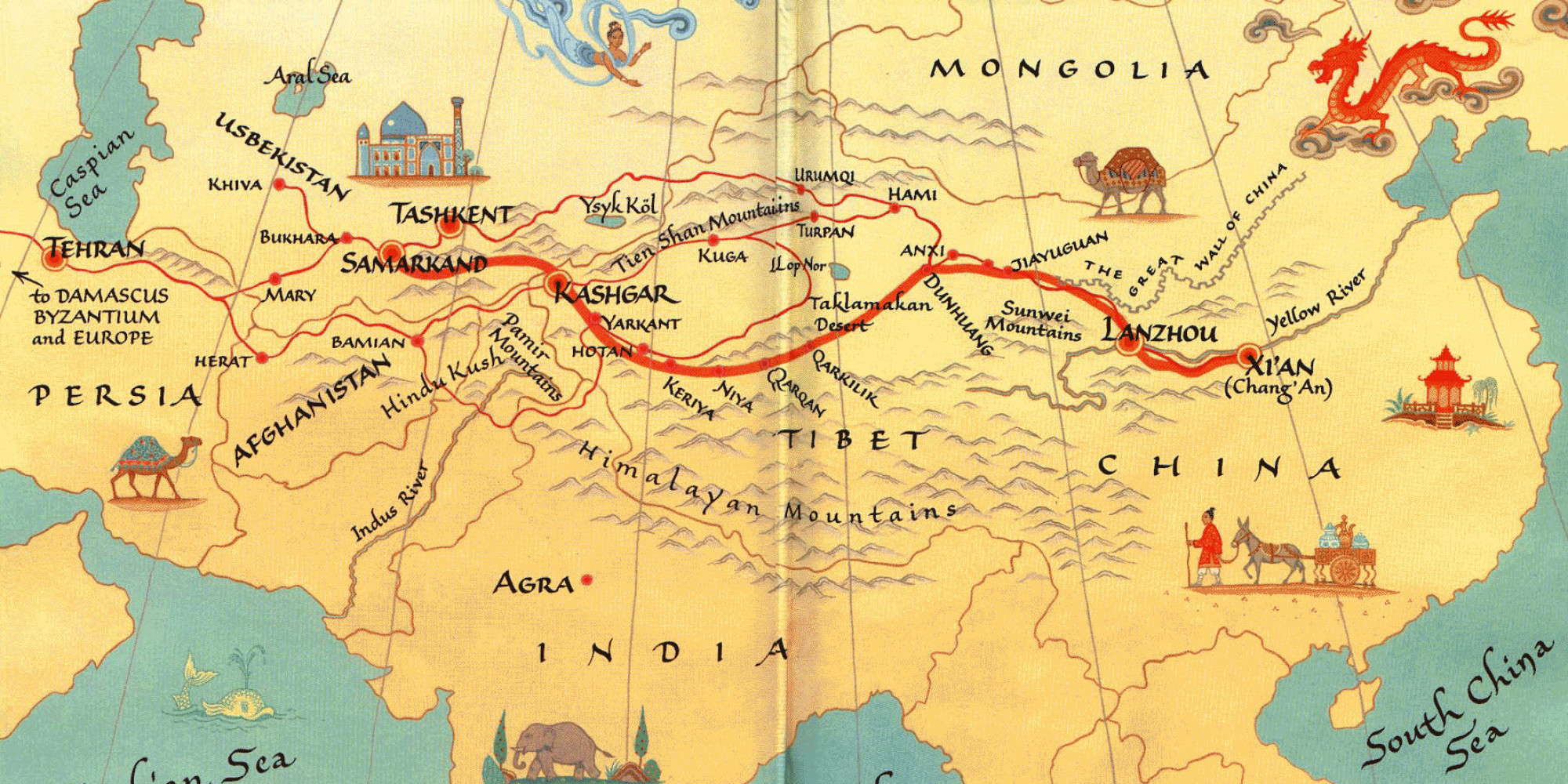 the silk road to - photo #2