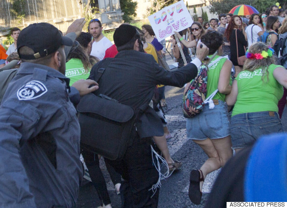jerusalem pride attack