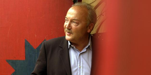 Former Labour M.P. George Galloway at the Edinburgh International Book Festival, Edinburgh.
