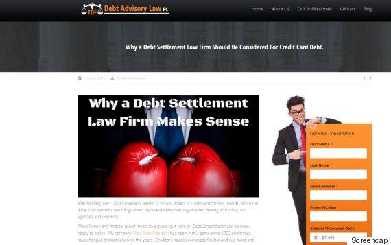 tdf debt advisory law pc