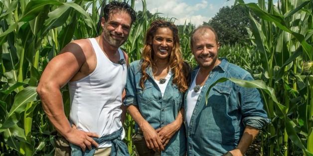 Nadja Abd El Farrag, Carsten Spengemann (l.) und Willi Herren waren Teilnehmer der zweiten Dschungelcamp-Staffel