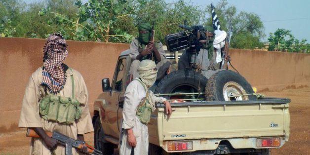 Des djihadistes d'Ansar Eddine à Kidal en 2011 (archives)