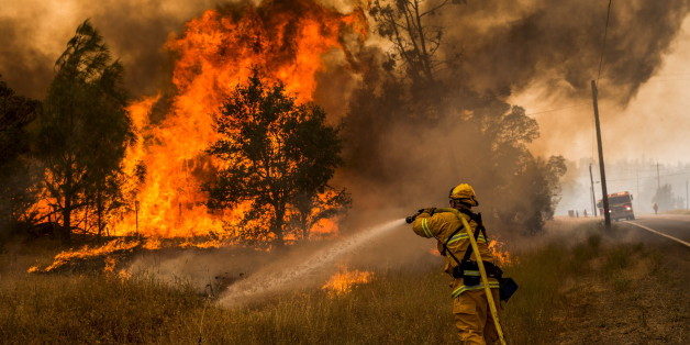 Les impressionnantes photos des incendies ravageant la Californie