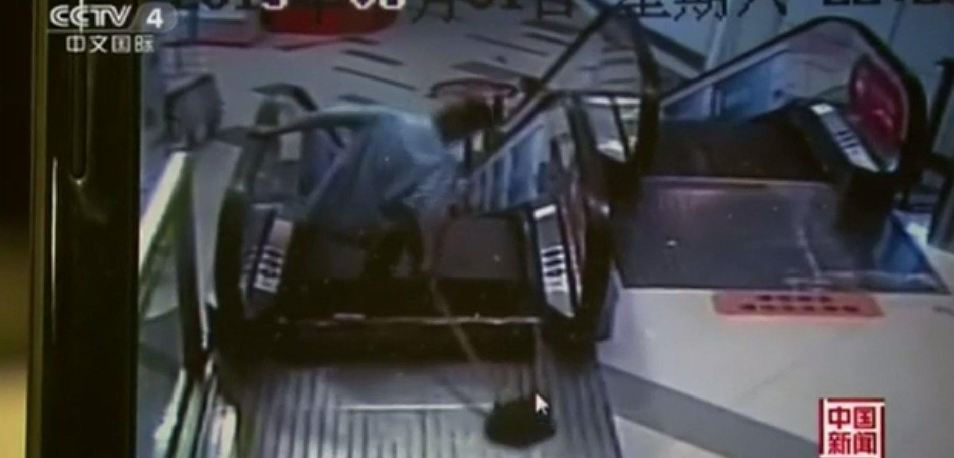 chinese escalator