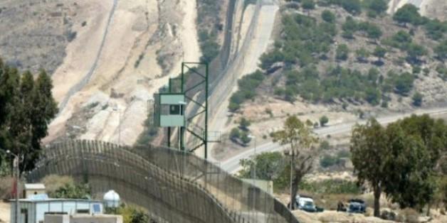 La frontière séparant le Maroc et l'enclave espagnole de Melilla, le 9 juillet 2014