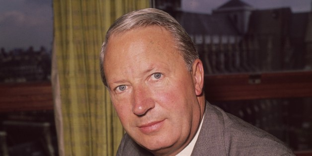 September 1964:  British statesman and future prime minister Edward Heath, President of the Board of Trade and Secretary of State for Industry.  (Photo by Harry Todd/Fox Photos/Getty Images)