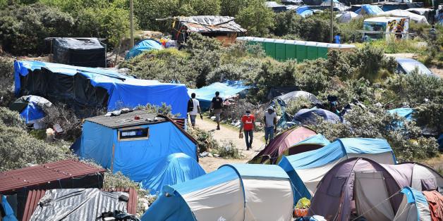 Der Eurotunnel ist seit Tagen Schauplatz der Flüchtlingskrise