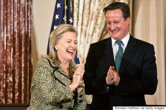 hillary clinton david cameron