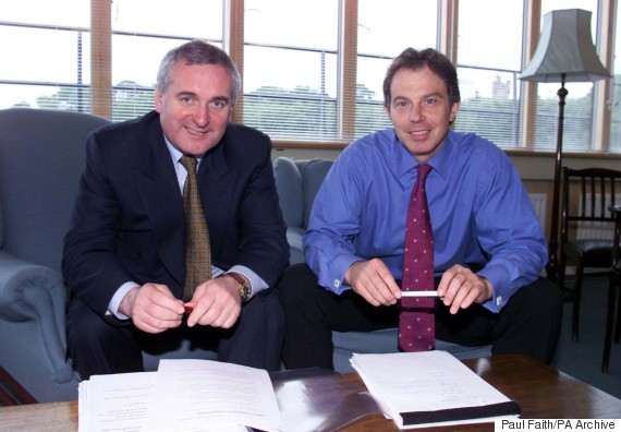 tony blair bertie ahern