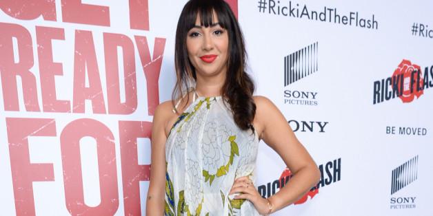 """Schauspielerin Jackie Cruz besuchte gestern die Premiere von """"Ricki and the Flash"""" in New York"""