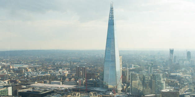 General view of the Shard, and London Bridge Station as seen from the Sky Garden at 20 Fenchurch Street, London. PRESS ASSOCIATION Photo. Picture date: Wednesday March 25, 2015. Photo credit should read: Dominic Lipinski/PA Wire