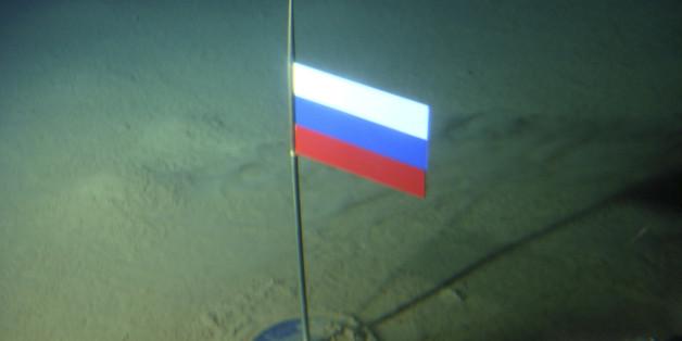 2007 platzierte Russland eine Flagge auf dem arktischen Meeresboden