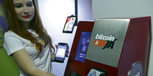 Ein Bitcoin-Geldautomat