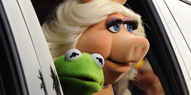 Bild aus besseren Zeiten: Kermit und Miss Piggy