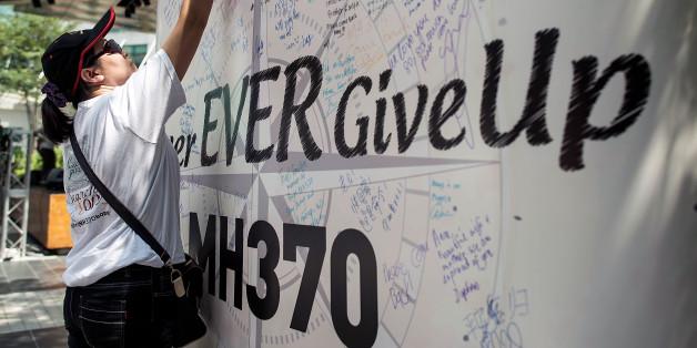Angehörige der Opfer von MH370