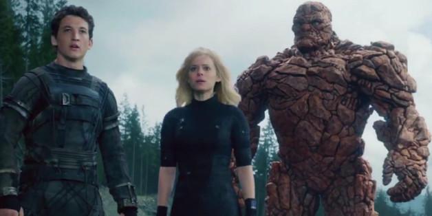 """Die Helden aus """"Fantastic Four"""""""